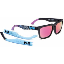 Lentes Spy Helm Matte Black Livery 2013 Spectra Pink Sun