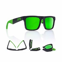 Lentes Spy The Fold Brostock - Happy Bronze W/green Spectra