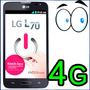Lg Optimus L70 4g Android 4.4 5mp Wifi Gps 4gb Bbm Whatsapp