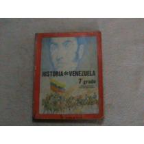 Libro Historia De Venezuela 7 Septimo Grado Sominguez France