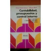 Contabilidad, Presupuesto Y Control Interno De Gómez Y Block