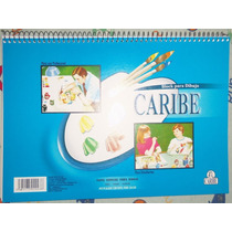 Block De Dibujo Escolar Caribe.29.8x21 .ofidb.caracas