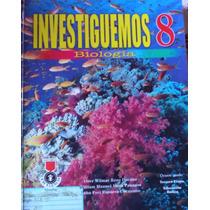 Biología Investiguemos Octavo 8vo Rozo Fonseca Mora Cpx079