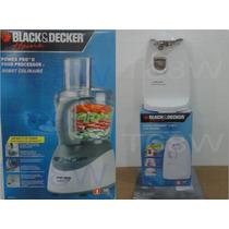 Combo Black And Decker - Procesador De Alimentos + Abrelata