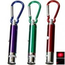 Llavero Con Linterna Y Laser, Colores Surtidosnav13