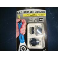 Led Con Interruptor Para Maglite Aa