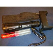 Linterna Ultrafire T6 2000 Lumens Funda , Pila Y Cargador