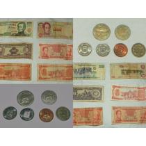 Monedas Y Billetes Venezolanos (975 Monedas Y 6 Billetes)