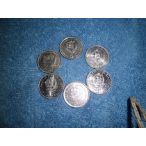 Lote De Monedas De 5 Bs. Años 73-77-87-89*-90