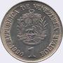 Monedas De 1 Bolívar Lote De 330 Monedas De 1989 Y 1990