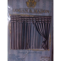 Bellas Cortinas Logan & Mason Originales