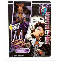 Monster High Clawdeen Wolf Monstruos Vivientes Muñeca