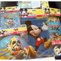 Manteleria Fiesta Mickey Mouse. Licencia Disney Importada.