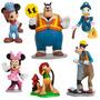 Mickey Mouse Set De Figuritas Para Torta 100%original Disney