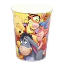 Winnie The Pooh Vaso De 16 Onzas Plastico Infantil Nav13