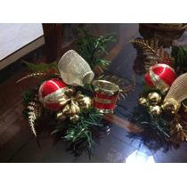 Adornos De Navidad Para Arbolito Guirnalda Centro De Mesa