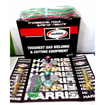 Equipo Oxicorte Profesional Harris. Original Oferta
