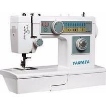 Maquina De Coser Casera Yamata Con 20 Puntadas Decorativas