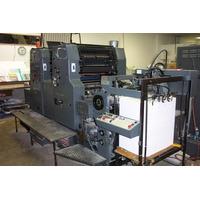 Maquina Litografica Heidelberg Modelo Mozp Bicolor Año