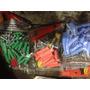 Ramplug Liso Solos Por Paquetes Con Tornillos Y Mecha 12pz