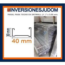 Paral Para Fabricación De Techos En Drywall (1 5/8 X3.05 Mt)