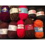 Lote 10 Rollos De Hilos Para Tejer Crochet, 2 Agujas, Telar