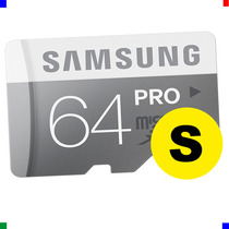 Micro Sd 64gb Samsung Ultra 90 Mb/s Clase 10 Tablet S4 S5 +