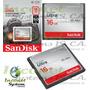 Memoria Compact Flash Cf Sandisk 16gb 50 Mb/s 333x Dslr Inco