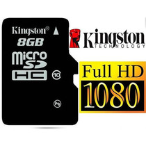 Memoria Micro Sd Kingston 8gb Clase 10 Original