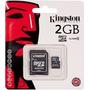 Memoria Kingston Micro Sd C/adp 2 Gb Original
