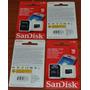 Memoria Micro Sd 16gb Sandisk C4 Con Adaptador Sd