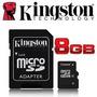Memoria Kingston 8gb 100% Original Emitimos Factura Fiscal