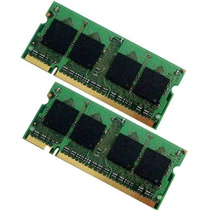 Kit Memoria Sodimm Laptop Ddr2 2 X 2gb = 4gb 800 / 667 Mhz