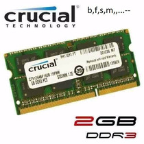 Memoria Ram Ddr3 2gb Laptop Y Mini Laptop