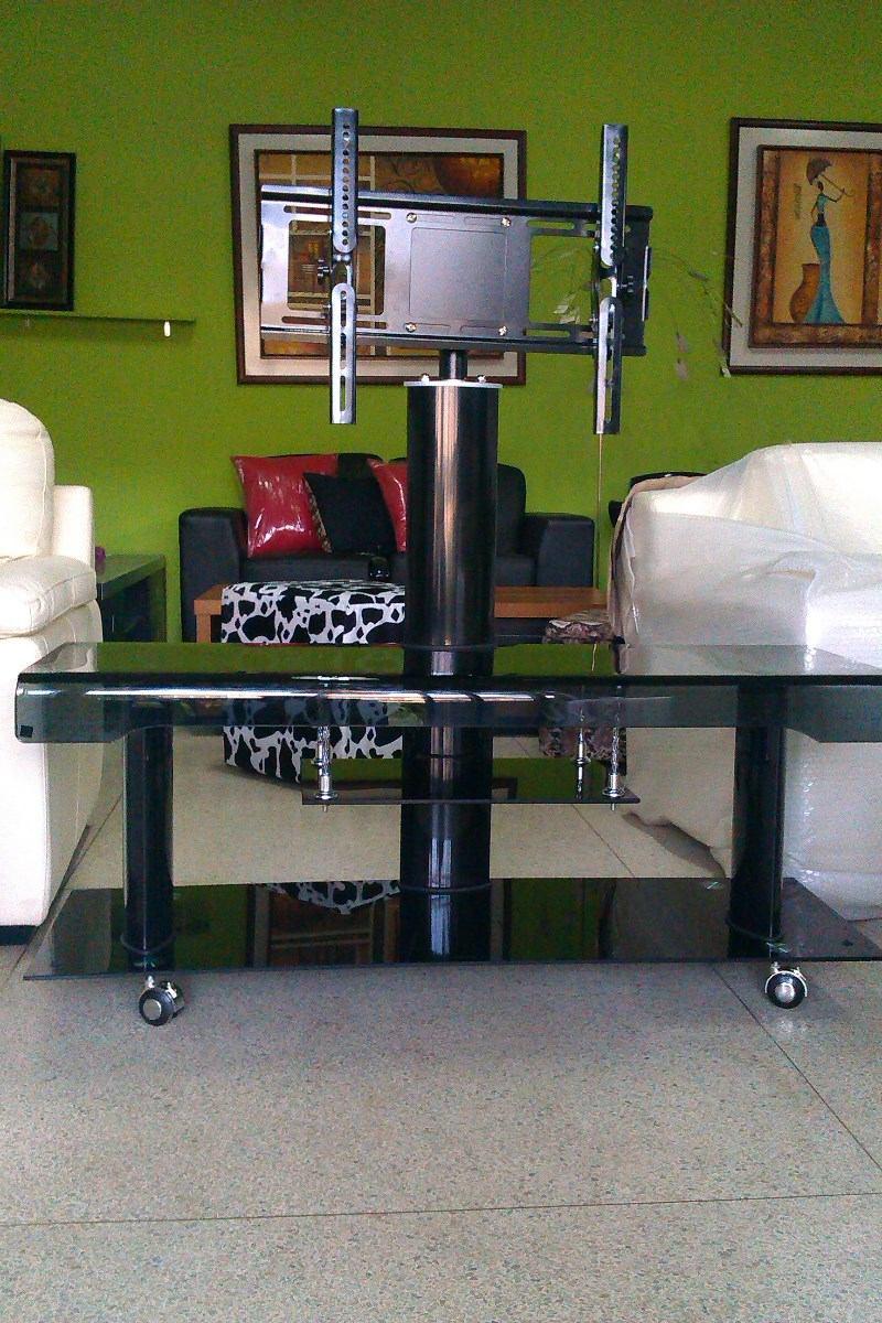 mesa para televisortv nueva con vidrio templado moderna bs