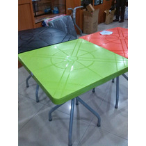Mesa Plástica Para Comedor, Feria De Comida, Restaurantes