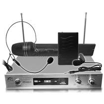 Sistema Profesional 3microfonos Cintillo Balita Puño 80mts