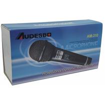 Microfono Profesional Audesbo Modelo Am-310 Alambrico 5 Mt