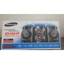 Equipo De Sonido Nuevo Samsung H630 230w Minicomponente Oro