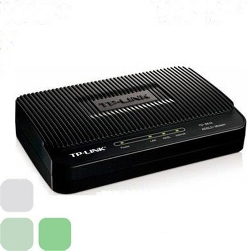 Modem Tp Link Adsl2+ Para Banda Ancha Hasta 24mbps Td 8616