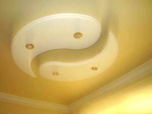 Dise os de drywall en techos imagui - Moldura escayola techo ...