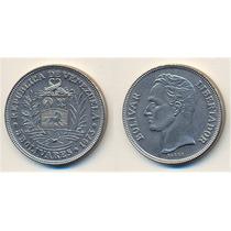 Moneda Venezolana De 5 Bolívares 1973