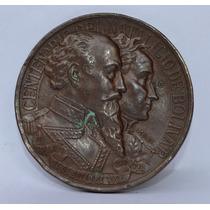Medalla Conmemorativa Al Centenario Del Natalicio De Bolívar