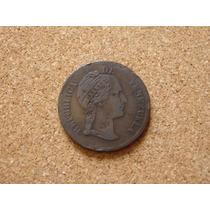 Moneda Venezuela 1 Centavo Monaguero 1862