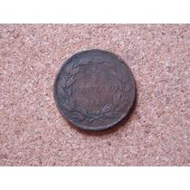 Escasa Moneda De Venezuela 1/2 Centavo Monaguero De 1843