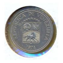 Moneda 5 Centimos (puya) 1971