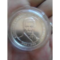 Moneda De Plata 100 Bs Bicentenario Jose Maria Vargas 31.10g