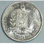 Vendo Moneda De Dos Bolivares Del Año 1965 Plata Ley 835 10.
