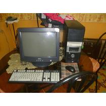 Monitor Crt 17 Dell Negro Clase A Con Garantia En Maracaibo