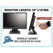 Monitor Lenovo 19 L197wa Totalmente Nuevos